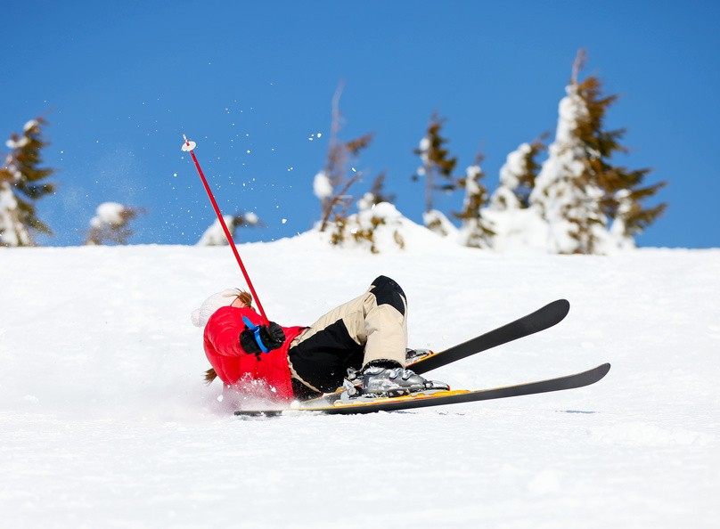 Hitting the slopes - Risk to your Knees
